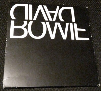 BOWIE, DAVID - EXCERPTS 1993 Rare 4-trk promo pack, with Swedish infosheet! (CD)