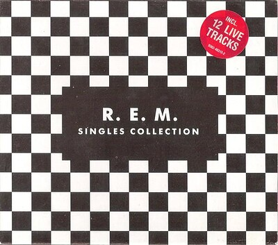 R.E.M. - SINGLES COLLECTION 4xCD box, sealed! (4CD)