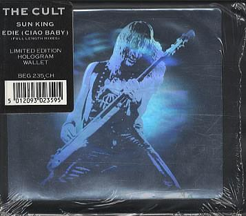 CULT, THE - SUN KING UK ltd 4-trk edition, holographic, sleeve, sealed! (CDM)