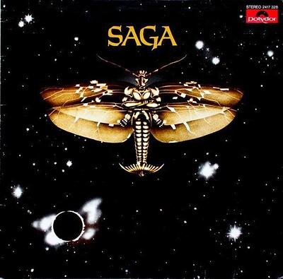 SAGA - S/T German 1985 re-issue (LP)