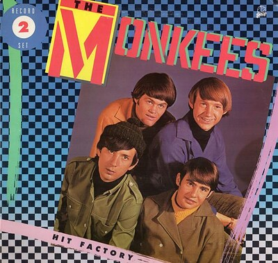 MONKEES, THE - HIT FACTORY U.S. 1985 compilation, double album, sealed! (2LP)