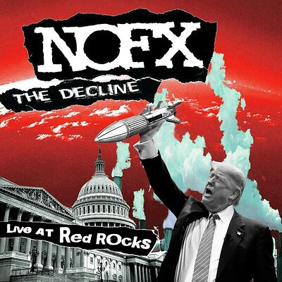 "NOFX - THE DECLINE-LIVE AT RED ROCKS (12"")"