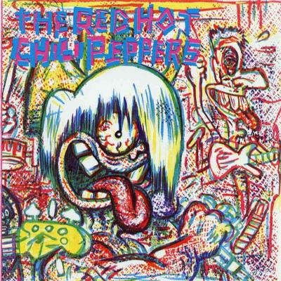RED HOT CHILI PEPPERS - S/T reissue, red vinyl (LP)