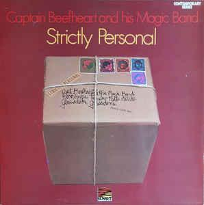 CAPTAIN BEEFHEART & HIS MAGIC BAND - STRICTLY PERSONAL UK 1971 re-issue (LP)