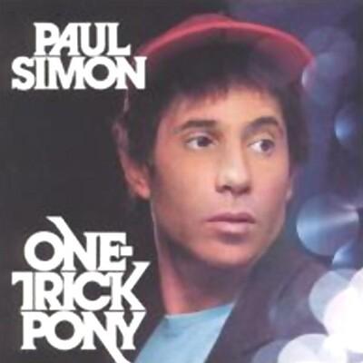 SIMON, PAUL - ONE-TRICK PONY U.S. pressing (LP)