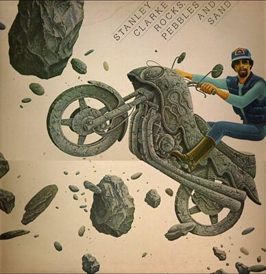 CLARKE, STANLEY - ROCKS, PEBBLES AND SAND Dutch pressing (LP)