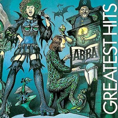 ABBA - GREATEST HITS 1975 compilation, Norwegian pressing, gatefold sleeve (LP)