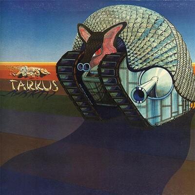 EMERSON, LAKE & PALMER - TARKUS UK original, gatefold sleeve (LP)