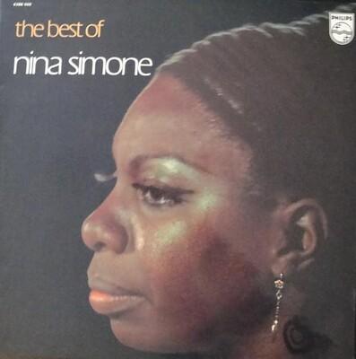 SIMONE, NINA - THE BEST OF NINA SIMONE French pressing, gatefold sleeve (LP)