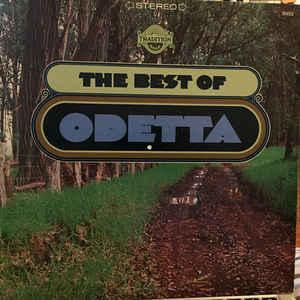 ODETTA - THE BEST OF ODETTA 1967 compilation, U.S. pressing (LP)