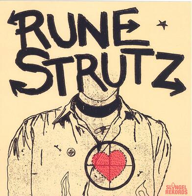 "RUNE STRUTZ - DYNAMIT EP Swedish early punk recorded 1977-81. White vinyl, Lim.Ed. 300 copies (7"")"