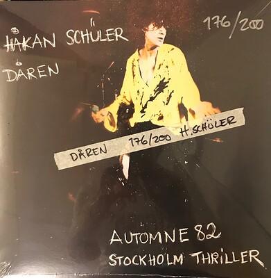 """HÅKAN SCHÜLER - DÅREN Limited Edition 200 copies by ex Golliwog, Rottweiler, Perfekt Alibi-singer (12"""")"""