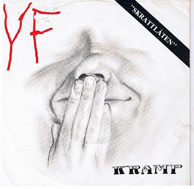"KRAMP - YF / Disciplin Swedish punk / minimal weird 1982 (7"")"