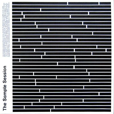 """VARIOUS ARTISTS (SYNTH / ELECTRO) - THE SAMPLE SESSION Scarce 1-sided 10"""" compilation, excerpts (10"""")"""