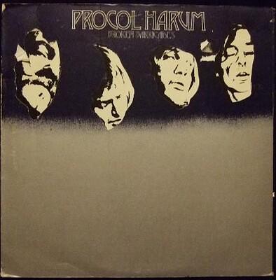 PROCOL HARUM - BROKEN BARRICADES UK original, gatefold die-cut sleeve (LP)