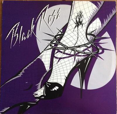 BLACK ROSE - S/T 1980 U.S. original, hard rock-ish featuring Cher! (LP)