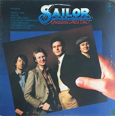 SAILOR - GREATEST HITS VOL. 1 1978 compilation, Dutch pressing (LP)