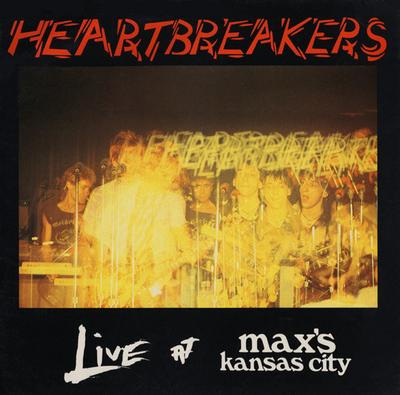 HEARTBREAKERS - LIVE AT MAX'S KANSAS CITY Original UK with innersleeve (LP)