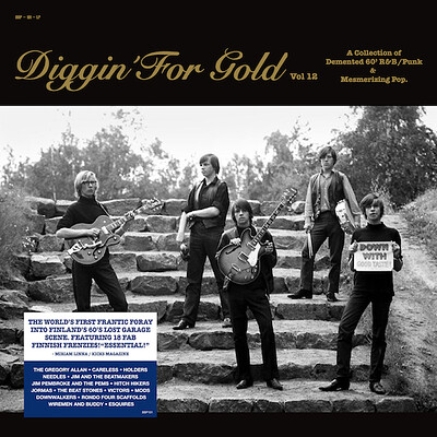 DIGGIN FOR GOLD - VOLUME 12 Lim.Ed. 500 copies on vinyl - Finnish 60´s Beat (LP)