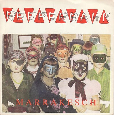 "REEPERBAHN - MARRAKESCH / DU ROAR MIG Small centre (7"")"