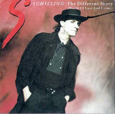 "SCHILLING, PETER - THE DIFFERENT STORY (WORLD OF LUST AND CRIME) Classic 1988 synthpop hit! (7"")"