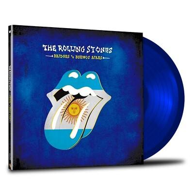 ROLLING STONES, THE - BRIDGES TO BUENOS AIRES 180g Blue vinyl, USA Import, Live 1997/1998 (3LP)