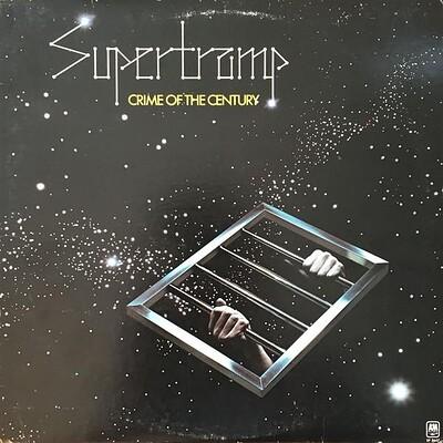 SUPERTRAMP - CRIME OF THE CENTURY U.S. pressing (LP)