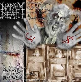 NAPALM DEATH - ENEMY OF THE MUSIC BUSINESS 180g reissue (LP)