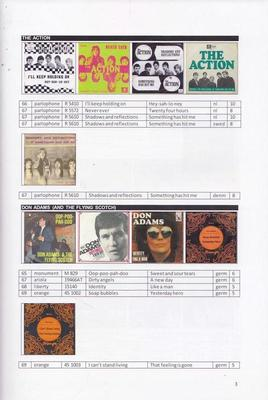 DISCOGRAPHY 1963 - 1969