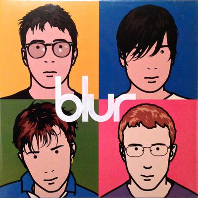 BLUR - THE BEST OF... Super Rare UK Original Pressing With Printed PVC-Sleeve & Innersleeves (2LP)