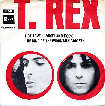 T. REX - HOT LOVE EP swedish in nice condition (7)