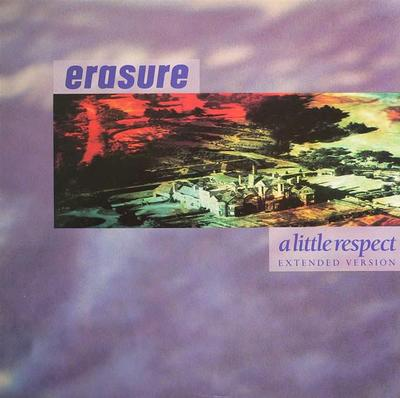 "ERASURE - A LITTLE RESPECT UK maxi single (12"")"