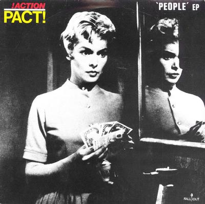 "ACTION PACT - PEOPLE EP UK 1983, Punk (7"")"