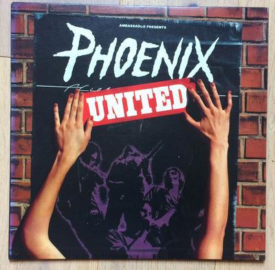 PHOENIX - UNITED Mega Rare US Original Pressing With Oversized Sleeve! (LP)