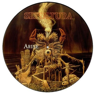SEPULTURA - ARISE Rare UK ltd edition picture disc (LP)