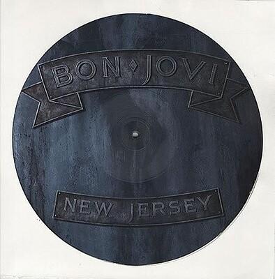 BON JOVI - NEW JERSEY UK ltd edition picture disc (LP)