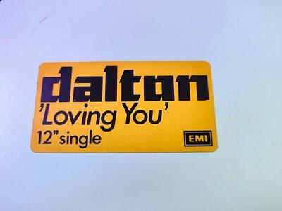 "DALTON - LOVING YOU Promo 12"" maxi (12"")"