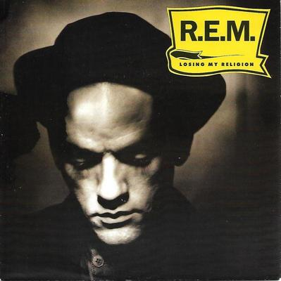 "R.E.M. - LOSING MY RELIGION German ps (7"")"
