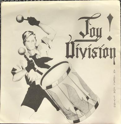 "JOY DIVISION - AN IDEAL FOR LIVING Original Genuine First press. (7"")"