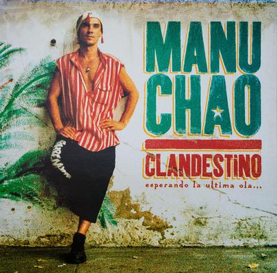 MANU CHAO - CLANDESTINO Rare French Original Pressing With Innersleeve (LP)