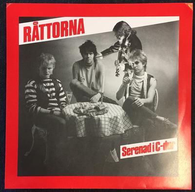 """RÅTTORNA - SERENAD I C-DUR 80's Swedish Punk (7"""")"""