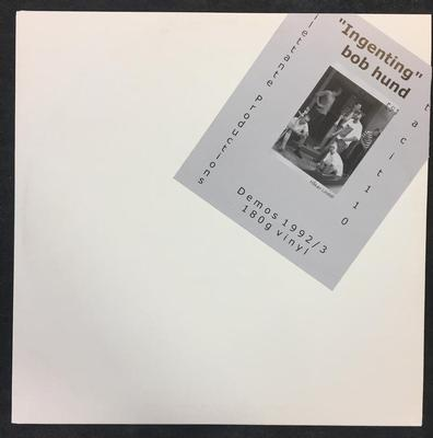 BOB HUND - INGENTING Opened Copy, Complete With Inserts & Numbered Sleeve (LP)