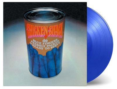 CHICKEN SHACK - 40 BLUE FINGERS FRESHLY PACKED.. 180g Blue Vinyl, Lim. Ed. 1500 copies (LP)