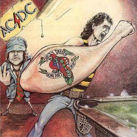 AC/DC - DIRTY DEEDS DONE DIRT CHEAP Australian re-issue (LP)