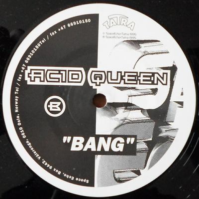 "ACID QUEEN - BING/BANG Unplayed stock copy (12"")"