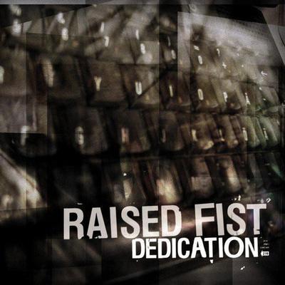 RAISED FIST - DEDICATION Silver vinyl. (LP)