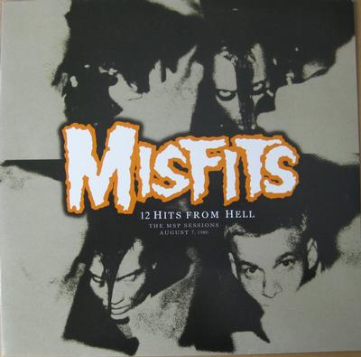 MISFITS - 12 HITS FROM HELL Classic complete MSP session from August 1980 (LP)