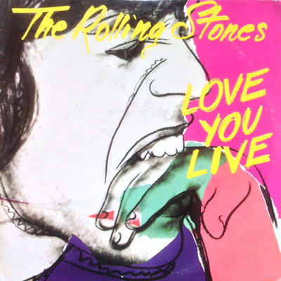ROLLING STONES, THE - LOVE YOU LIVE Usa Original , innersleeves , gatefold sleeve by Andy Warhol (2LP)