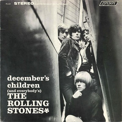 ROLLING STONES, THE - DECEMBER'S CHILDREN Canadian 1982 re-issue (LP)