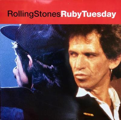 """ROLLING STONES, THE - RUBY TUESDAY UK maxi single, live tracks (12"""")"""